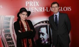 Anne Karina et Laurent Lafon ©Denis Guignebourg