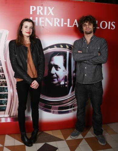 Camille Claris et Arthur Dupont ©Denis Guignebourg