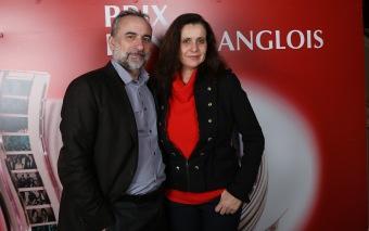 Antoine Dulery et Pascale Pouzadoux ©Denis Guignebourg