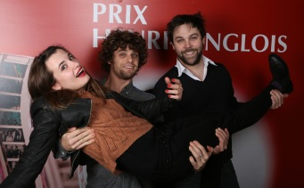 Camille Clarie, Arthur Dupont et Arthur Jugnot ©Denis Guignebourg