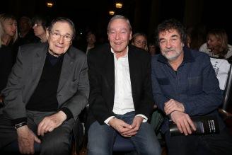 Robert Hossein, Yves Boisset et Olivier Marchal ©Denis Guignebourg