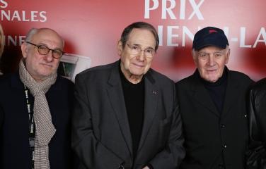 Frédéric Vidal, Robert Hossein et Rémy Julienne ©Denis Guignebourg