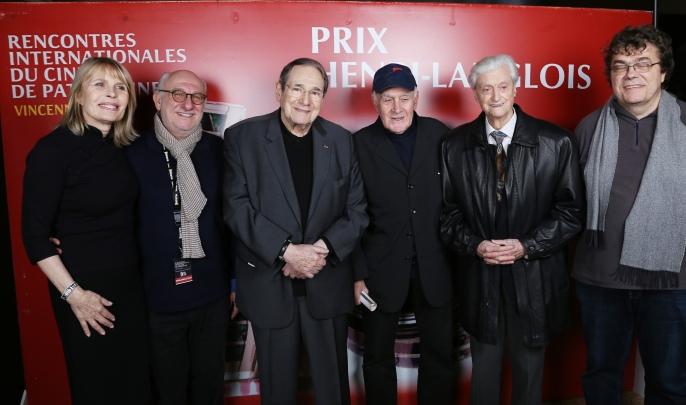 Candice Patou, Frédéric Vidal, Rbert Hossein, Rémy Julienne, Edmond Richard et Stephen Melchiori ©Denis Guignebourg