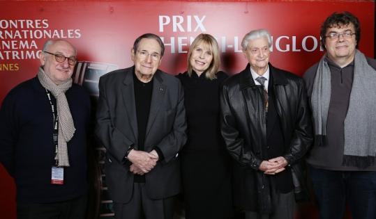 Frédéric Vidal, Robert Hossein, Candice Patou, Edmond Richard et Stephen Melchiori ©Denis Guignebourg