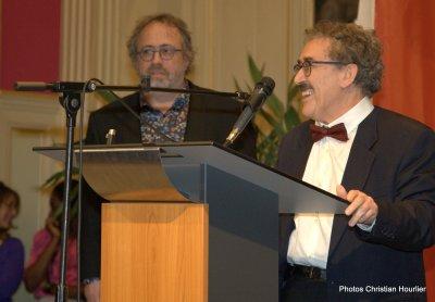 Jaco Van Dormael : réalisateur belge et lauréat du prix Henri Langlois du cinéma francophone 2016 et Ferid Boughedir