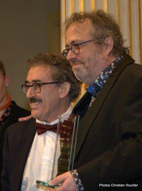 Ferid Boughedir, réalisateur tunisien et Jaco Van Dorma